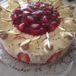 Weiße Schokolade-Erdbeer